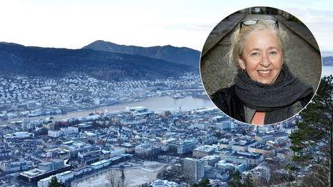 Bergen har gått foran og skaffet seg en byarkitekt. Hun skal ha ansvar for de kvalitetene som ikke lar seg styre av Plan- og bygningsloven, og stille de vanskelige spørsmålene som kan gi oss en bedre by. Maria Molden, byarkitekt Bergen.