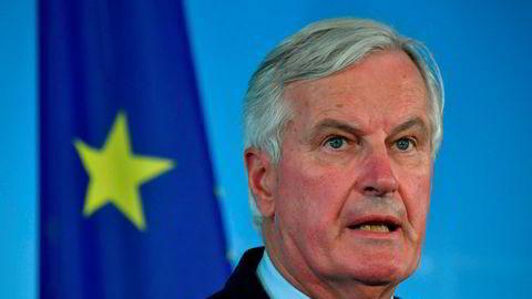 EUs brexitforhandler Michel Barnier jobber fortsatt med å inngå en brexitavtale med Storbritannia.