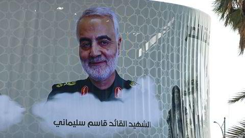 Qasem Soleimanis ble hedret som en martyr etter at han ble drept av amerikanske styrker.