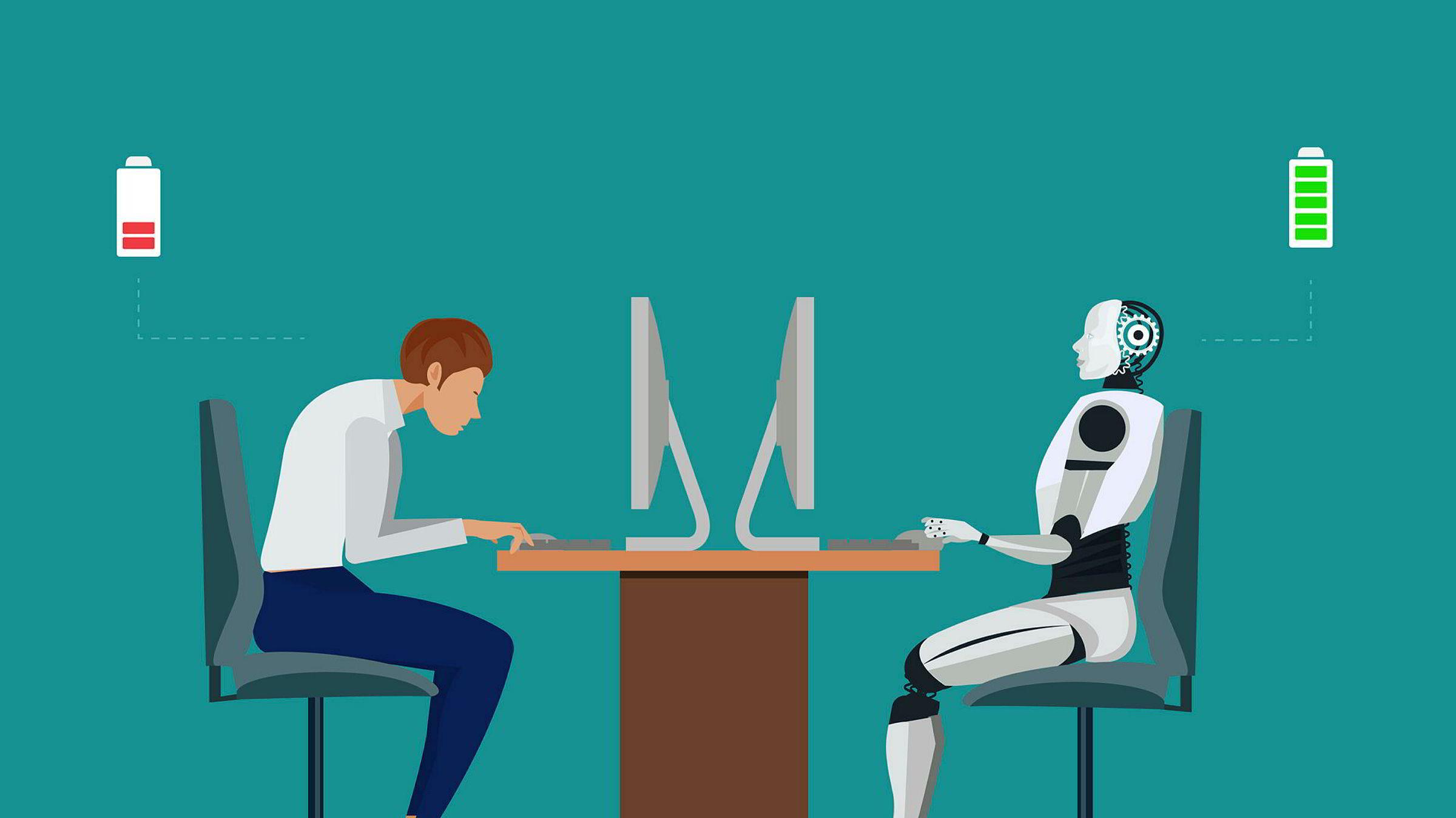 Før vi ansetter noen, ser vi om det er teknologi vi kan bruke. Dersom vi absolutt må ansette noen, ansetter vi folk som er eksperter i et verktøy de kan bruke. Vi ser starten på at alle de tradisjonelle funksjoner i et firma er i ferd med å bli effektivisert – og i mange tilfeller erstattet – av teknologi.