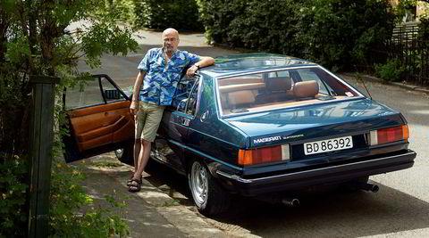 Mitt kjøretøy med Ingve Forus og hans Maserati Quattroporte.