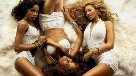 Destiny's Child Mk. II: Kelly Rowland (f.v.), Michelle Williams og Beyoncé Knowles. Beyoncé var den eneste som var med fra start, og bare de ivrigste husker de tidligere medlemmene LaTavia Roberson, LeToya Luckett og Farrah Franklin.