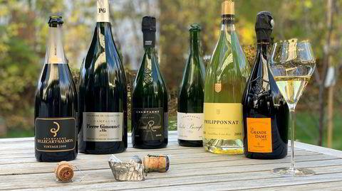 Et knippe champagner fra den legendariske 2008-årgangen, og som fortsatt er tilgjengelige i Vinmonopolets hyller.