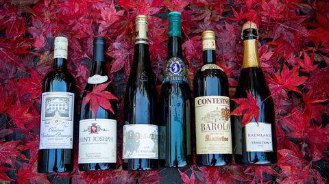 Polets novemberslipp kan skilte med noen av verdens mest legendariske viner og noen modne godbiter til en snill pris.