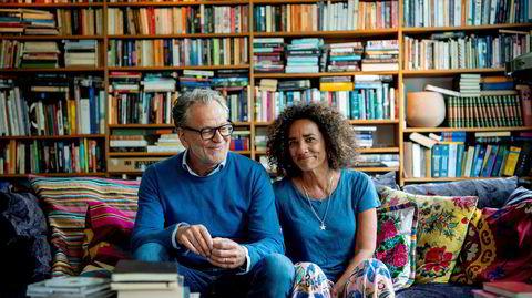 – Hun har vært min nærmeste rådgiver gjennom min periode som styreleder og hun er det fortsatt i dag, sier Harald Møller om kona og kunstneren Zoya Taylor.