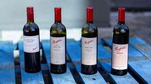 Penfolds kanskje mest berømte rekke med viner som slippes på Polet neste fredag.
