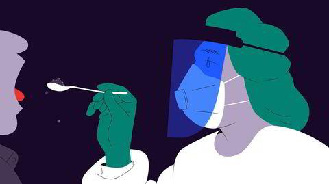 Illegal restaurantdrift. «'Den gode samtalen' – altså sjansen til å møte andre mennesker enn familiemedlemmene man er innesperret med 24/7 – er «et sentralt element i konseptet». Men matglede og utsøkt drikke er selvfølgelig i høysetet», skriver Torgrim Eggen om besøk på «svart» restaurant i mai 2020.