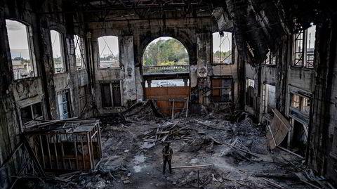 Tyrell Anderson er grunnleggeren av Decay Devils, som vil redde noen av Garys ruiner. Her står han på jernbanestasjonen Union Station som han har kjøpt for ti dollar. Oppussingen vil trolig koste mer enn to millioner dollar.