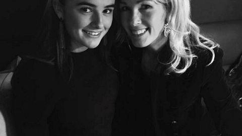 Hannah Krohn Thrane (18) med moren Anita Krohn Traaseth.