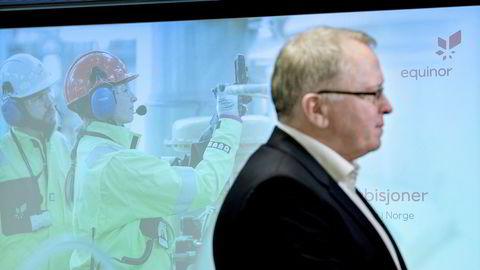Høyere kvotepris og høyere avgifter på norsk sokkel, har gjort utslippskutt mer lønnsomme for Equinor-sjef Eldar Sætre.