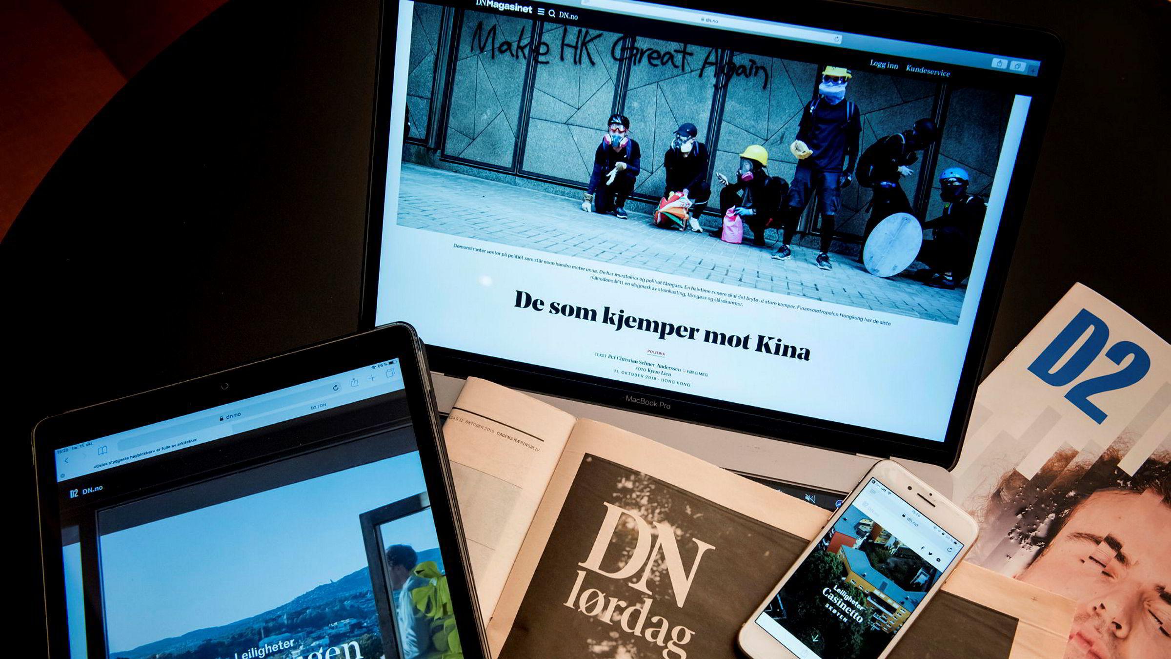 En 20 års analyse av den mediepolitisk debatten i DNs Etterbørs-seksjon viser en nærmest kontinuerlig krisefortelling knyttet til digitalisering.