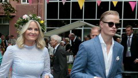 Kronprinsesse Mette-Marit gikk nylig ut og kritiserte pressen for å omtale sønnen Marius Borg Høiby, som nå selv har blitt redaktør.