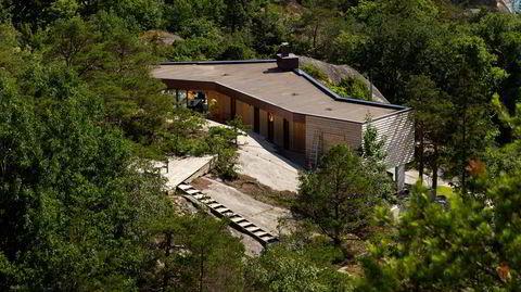 Adkomsten til hytta er som et prosjekt i Nasjonale turistveger