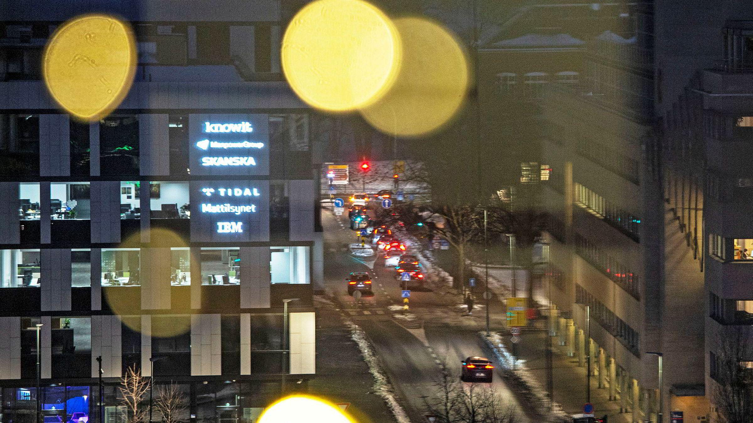 Tidals hovedkontor i Oslo.