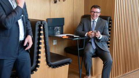 – Dette er en dramatisk situasjon. En situasjon som har potensial til å ødelegge selskaper, men også en situasjon hvor selskaper med robuste strategier vil bli belønnet, sier administrerende direktør Karl Johnny Hersvik i Aker BP (til høyre).