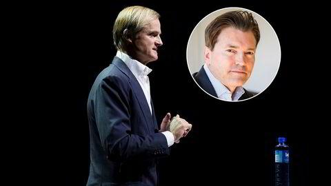 Øystein Stray Spetalen og Arne Fredly (innfelt) har solgt enda flere av aksjene i Kongsberg Automotive.