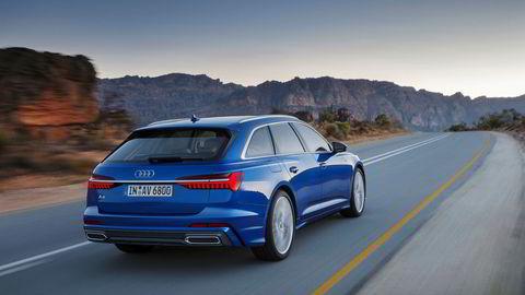Bakenden på den nye generasjonen Audi A6 Avant ser noe mer strømlinjeformet ut enn dagens modell.