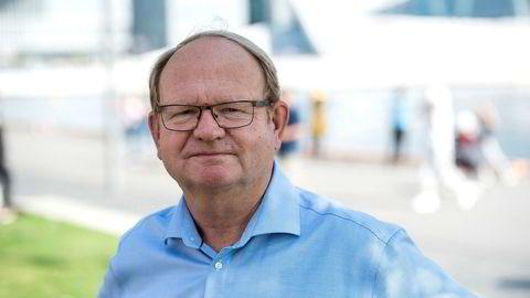 Per Einar Ruud, kredittøkonom i kredittanalyseselskapet Bisnode, er overrasket over den sterke nedgangen i antall konkurser i august.