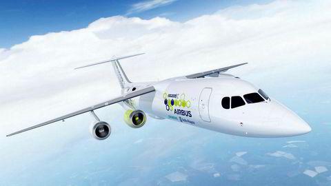 Airbus, Rolls-Royce og Siemens skal samarbeide om å utvikle demonstrasjonsflyet kalt E-Fan X.