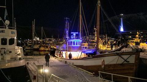 Møre og Romsdal, Trøndelag, Nordland og Troms og Finnmark nekter å ta over ansvaret for 300 havner. Fylkene mener det følger for lite penger med ansvaret. Her fra Havna i Tromsø.