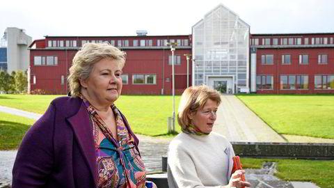 Statsminister Erna Solberg (H) besøkte UiT Norges arktiske universitet i september. Onsdag er det klart at universitetet har blitt utsatt for et alvorlig datainnbrudd.