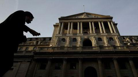Torsdag var det duket for rentemøte i Bank of England i London.
