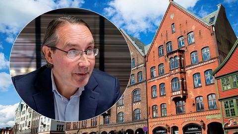 Advokat Leif Tore Rønning ga oppdraget til det nylig avskiltede finanshuset Nordic Securities i Bergen da han våren 2017 trengte tips om personer som kunne være interessert i å investere i Nordic White Diesel. Her fra de tidligere lokalene til Nordic Securities.