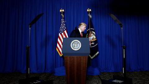 Onsdag truet USAs president Donald Trump Russland med missilangrep i Syria. Samtidig håndterer han en rekke andre saker på hjemmebane.