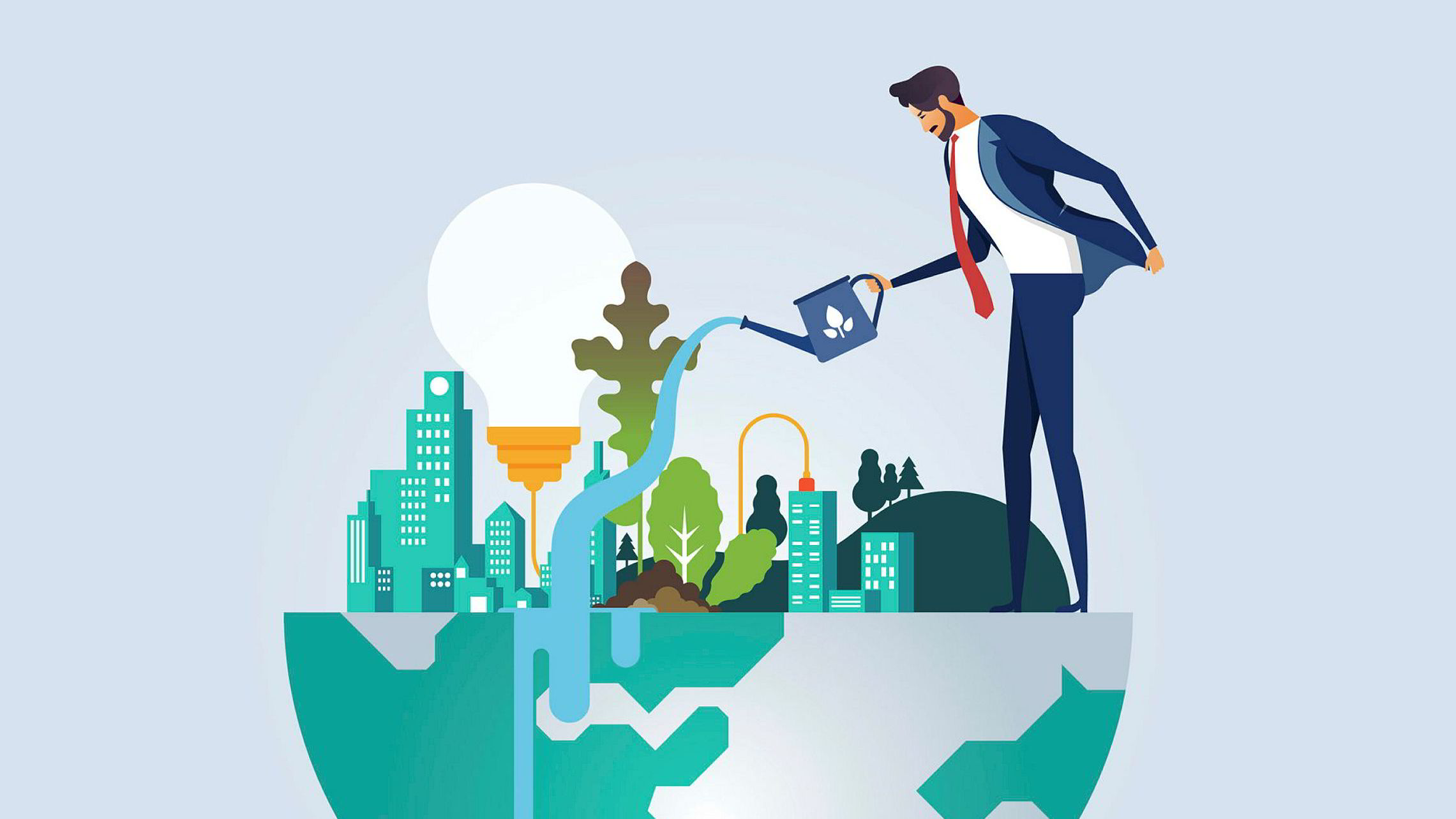 Ingen er tjent med «grønnvasking» – hverken bedriftene, markedet eller miljøet/klimaet, skriver artikkelforfatteren.