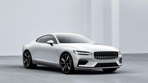 Polestar 1 er første modell ut fra Volvos nye søstermerke. Designen er umiskjennelig Volvo.