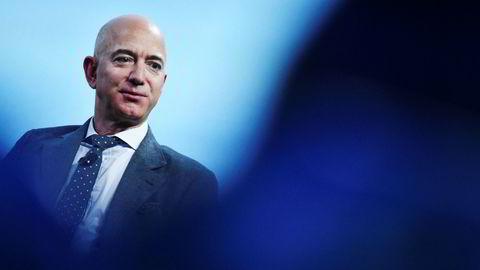 Amazon-toppsjef og verdens rikeste mann Jeff Bezos.