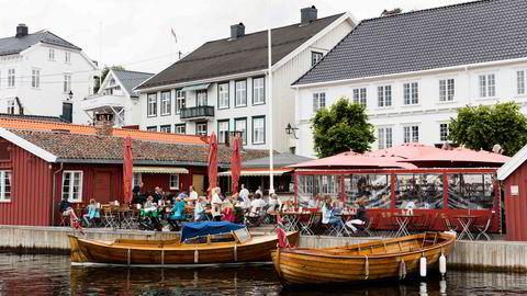 Tollboden i Kragerø er et velkjent skue. Foto: Sune Eriksen