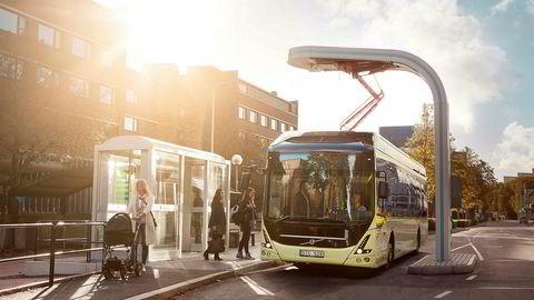25 slike elektriske busser skal fra 2019 gå i rute i Trondheim.
