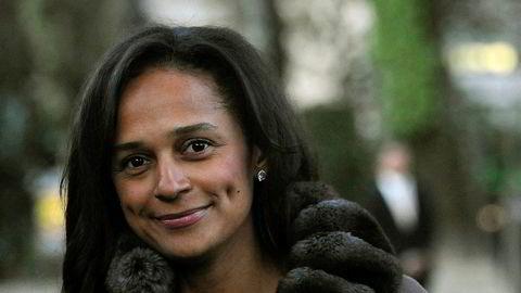 Faren og eksdiktatoren Eduardo dos Santos fra Angola gjorde datteren Isabel dos Santos til Afrikas rikeste kvinne. Nå er alle hennes midler i hjemlandet frosset.