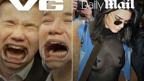 Her er VG på plass øverst i venstre hjørne Snapchats nyhetstjeneste Discover.