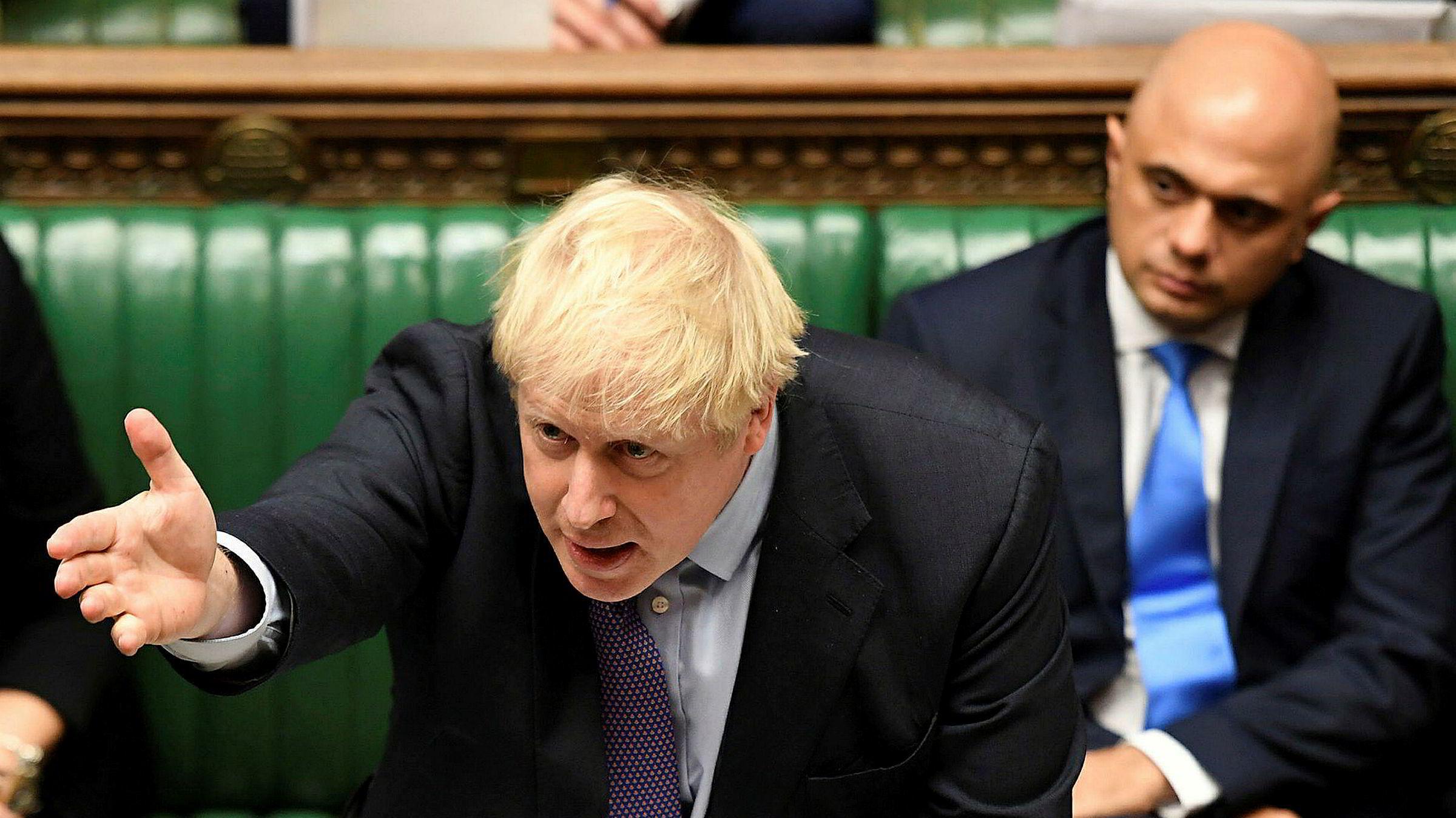 En sjelden seier for statsminister Boris Johnson.