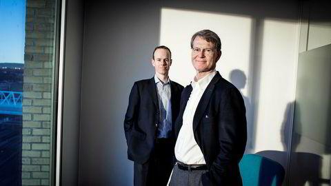 Nok et dårlig kvartal for de børsnoterte selskapene, oppsummerer aksjestrateg Paul Harper (til venstre) og analysesjef Morten Jensen i DNB Markets.