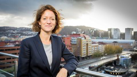 – Jeg forlater et konsern i god stand. Jeg har veldig stor tro på NHST fremover, sier Hege Yli Melhus Ask, konsernsjef i NHST.
