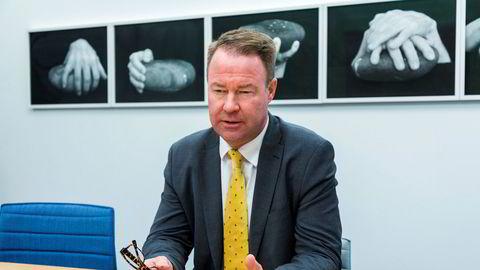 Trond Mellingsæter, sjef for Danske Banks virksomhet i Norge.