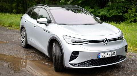 Volkswagens nye modell, ID4 GTX, er den firehjulsdrevne versjonen av VWs nye elektriske suv.
