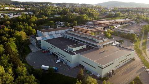 DHLs lagerbygning på Kalbakken i Groruddalen, der det har forsvunnet tre Munch-bilder de siste årene.