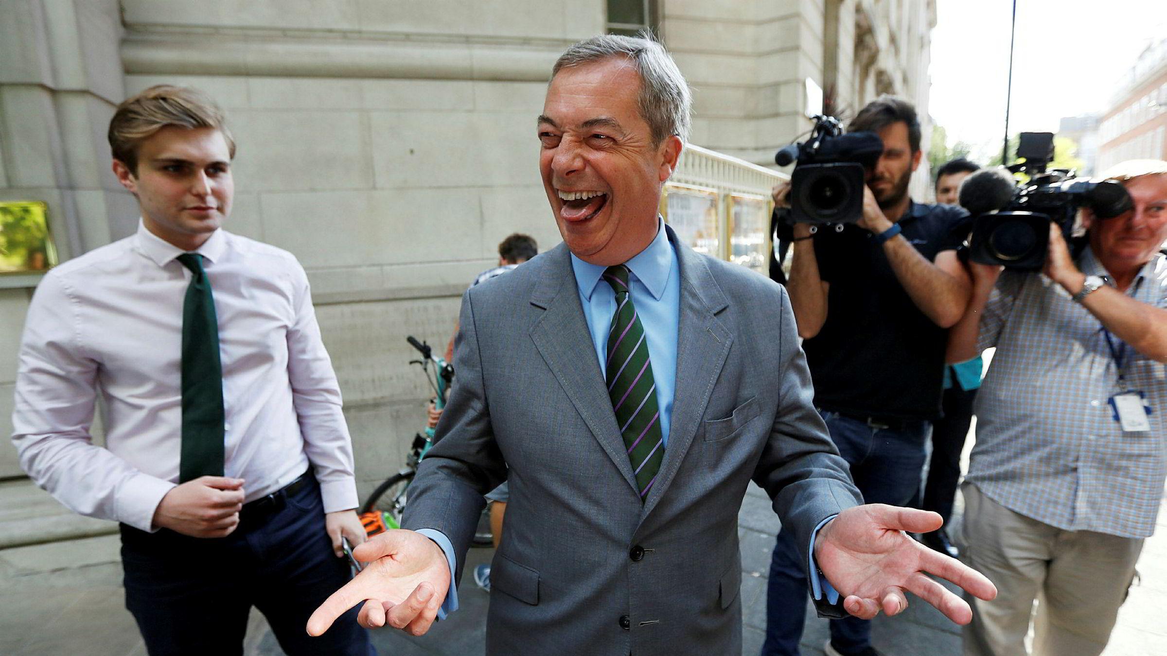 Brexit-general Nigel Farage har «kanskje» forandret mening om en ny folkeavstemning om brexit.