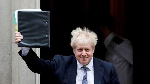Statsminister Boris Johnson har fått ja til sitt forslag om å stemme over en ny Brexit-dato i underhuset.