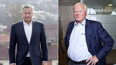 Endre Rangnes (til venstre) sier han fikk sparken av John Fredriksen.