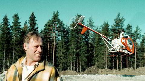 Etter å ha kjøpt et gigantisk landområde i Fetsund i 1998, presenterte Tom Hagen prosjektet om næringspark som han etter 20 år begynner å høste av.