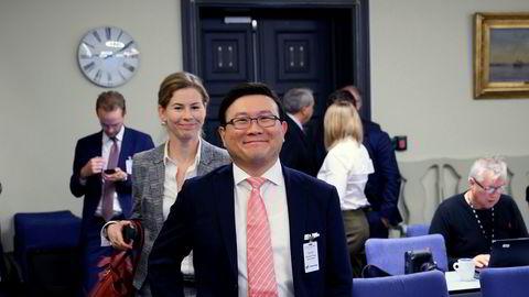 Styreleder i Norske Skog Jen-Yue Chiang.