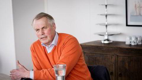 – Selskapet vil i årene fremover investere store beløp i produksjonsanlegg flere steder langs kysten, sier den nye konsernsjefen i Salmar Gustav Witzøe.
