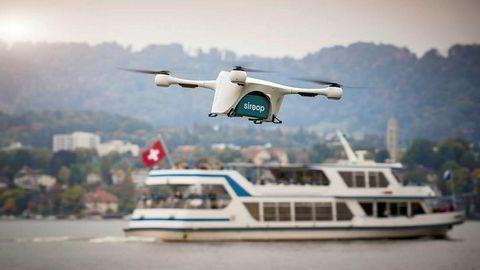Droner fra selskapet Matternet skal frakte varer til folk i Zurich som et prøveprosjekt.