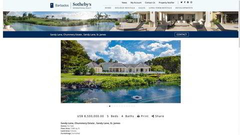 Tore Hansen-Tangens luksuseiendom Chummery Estate i Sandy Lane på Barbados hadde vært til salgs i nær to år før långiver Ferd fant en kjøper like før nyttår.