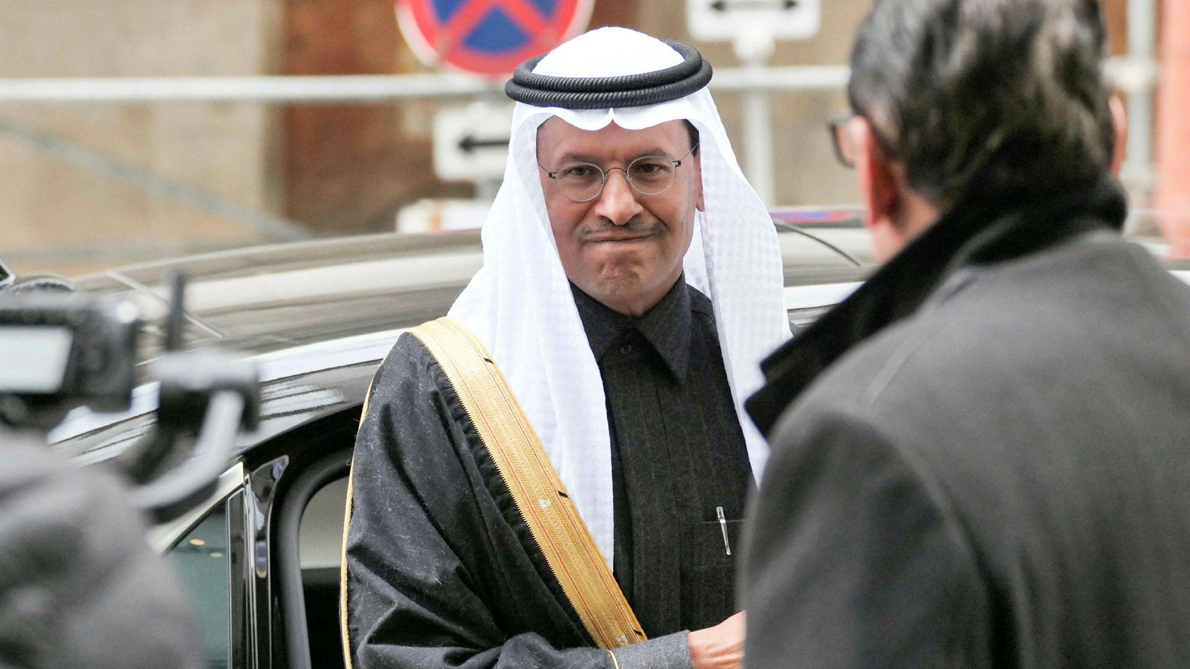 Saudi-Arabias oljeminister prins Abdulaziz bin Salman al-Saud tok hovedrollen på Opec-møtet i Wien denne uken.